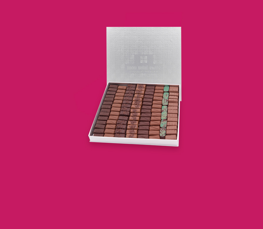 Coffret 100 chocolats