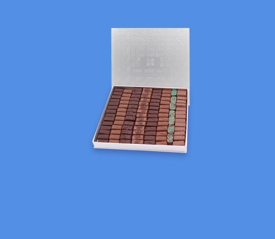 Coffret 100 chocolats